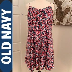Old Navy Fit & Flare Floral Cami Sun Dress 🌼